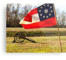 Civil War Re-Enactors Metal Print
