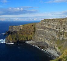 Enormity of the Cliffs of Moher by CHINOIMAGES