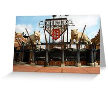 Comerica Park - Detroit Tigers Greeting Card