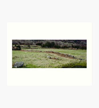 Burren Fields Art Print
