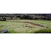 Burren Fields Photographic Print