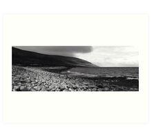 Burren Beach Tags Art Print
