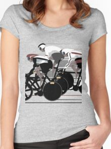 Velodrome Women's Fitted Scoop T-Shirt