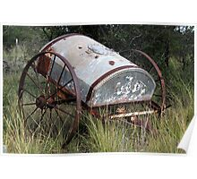 Water wagon Poster