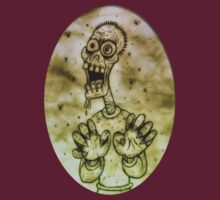 Cartoon Zombie by Malcolm Kirk