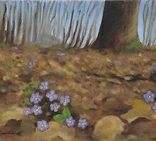 """Hepatica"" by Gabriella Nilsson"