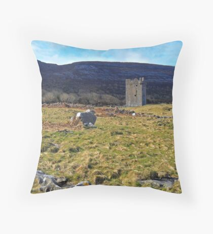 Tower House Throw Pillow