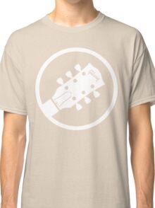 gibson  stylized headstock white Classic T-Shirt