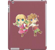 Legend of Zelda Skyward Sword: Chibi Link and Zelda iPad Case/Skin