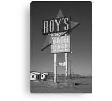 Route 66 - Roy's of Amboy, California Canvas Print