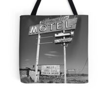 Route 66 - Bluewater Motel Tote Bag