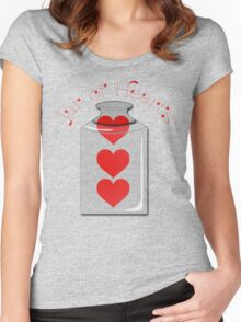 Jar of Hearts Women's Fitted Scoop T-Shirt