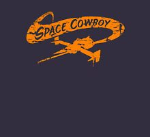 Space Cowboy - Distressed Orange Womens Fitted T-Shirt