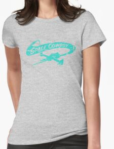 Space Cowboy - Distressed Green Womens Fitted T-Shirt