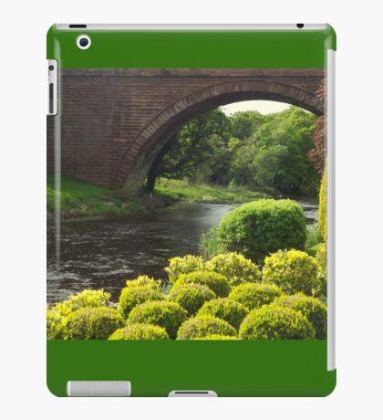 Bushes , Bridge and River iPad Case/Skin