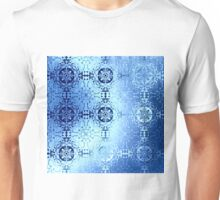 Royal blue traditional pattern with ethnic elements Unisex T-Shirt