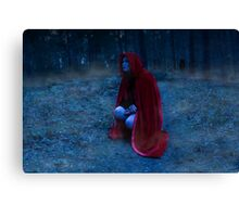 Red Riding Hood #6 Canvas Print