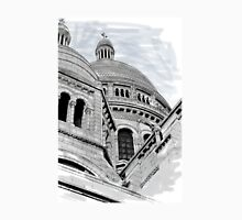Sacre Coeur IV Pen and Ink Unisex T-Shirt