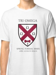 Tri O Formal Sticker Classic T-Shirt