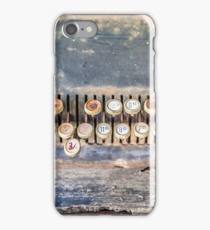 Old Cash Register HDR iPhone Case/Skin