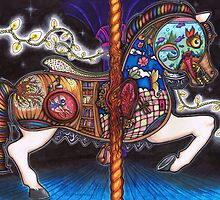 Vivisection of a Carousel Horse by TheLuckyLady