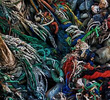 fishing rope by seagrass-cowes