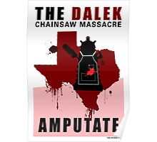 The Dalek Chainsaw Massacre Poster
