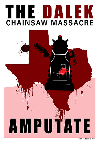 The Dalek Chainsaw Massacre by ToneCartoons
