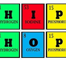 HIP-HOP: THE PERIODIC ELEMENTS by SOL  SKETCHES™