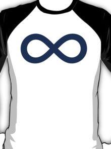 Navy Blue Infinity T-Shirt