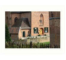 Castle, Huis Bergh, The Netherlands I Art Print
