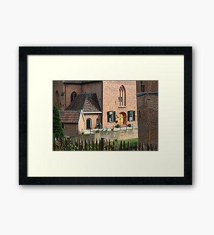 Castle, Huis Bergh, The Netherlands I Framed Print