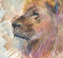 Lion Around by Danielle  Creason