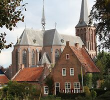 Castle, Huis Bergh, The Netherlands II by Richard Eijkenbroek