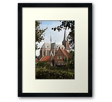 Castle, Huis Bergh, The Netherlands II Framed Print