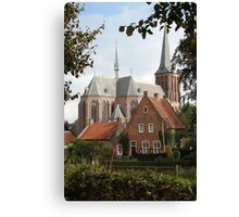 Castle, Huis Bergh, The Netherlands II Canvas Print