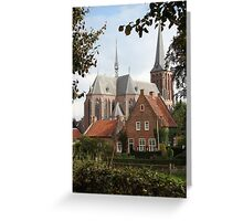Castle, Huis Bergh, The Netherlands II Greeting Card