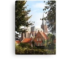 Castle, Huis Bergh, The Netherlands III Metal Print