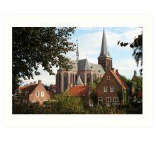 Castle, Huis Bergh, The Netherlands V Art Print