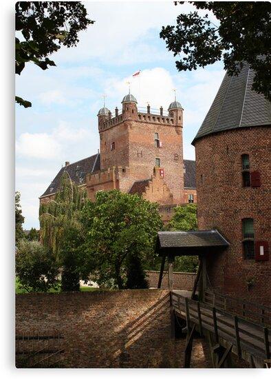Castle, Huis Bergh, The Netherlands IIII by Richard Eijkenbroek