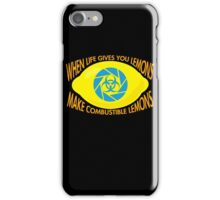 Combustible Lemons iPhone Case/Skin