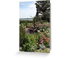 House of Seven Gables Garden 1 Greeting Card