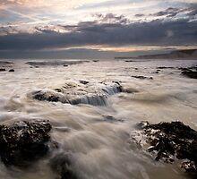 Birling gap sunset by willgudgeon