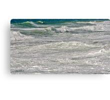 Waves at Jaffa Canvas Print
