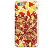 Autumn leaf iPhone Case/Skin