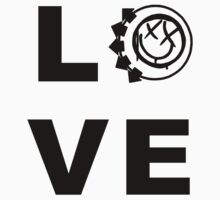 "Blink-182 ""Love"" T-Shirt by Matthew Quinn"