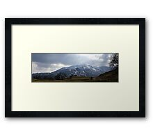 Wetherlam Panorama Framed Print