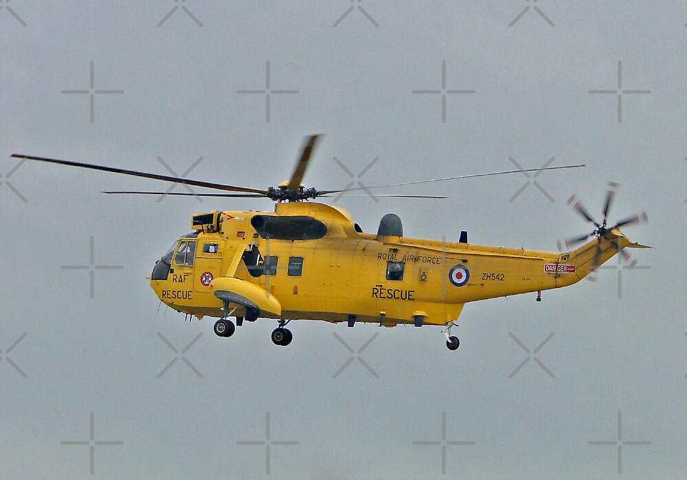 RAF Sea King HAR3A by Barrie Woodward
