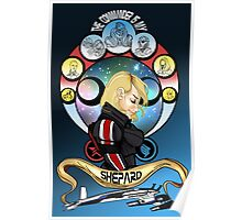 The Commander is my Shepard (BLONDE EDITION) Poster