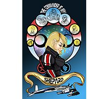The Commander is my Shepard (BLONDE EDITION) Photographic Print